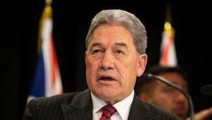 Winston Peters tells farmers 'help is on its way'
