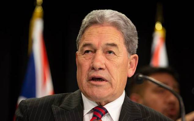 Winston Peters tells farmers 'help is on its way'