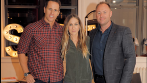 "Sarah Jessica Parker tells Newstalk ZB's Mike Hosking she's been ""wonderfully involved"" in producing a New Zealand wine. Photo / Supplied"