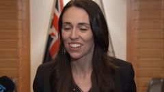 Prime Minister Jacinda Ardern apologised after muddling Japan and China at a press conference in Tokyo. Video / TVNZ