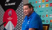 All Blacks coach Steve Hansen during their press conference at the team's hotel in Tokyo, Japan. Photo / Mark Mitchell