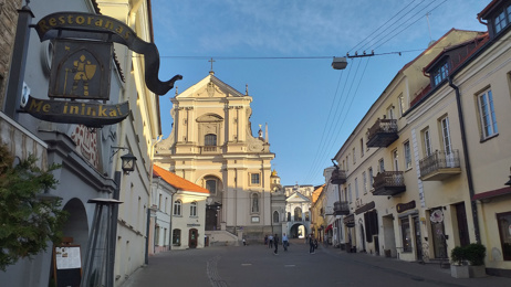 Mike Yardley: Venturing to Vilnius, Lithuania