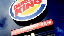 Person gets hand stuck in machine at Burger King