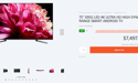 The $7500 TV mistakenly sold online for $99