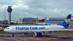 More than 600,000 vacationers who booked through tour operator Thomas Cook were on edge. (Photo / AP)