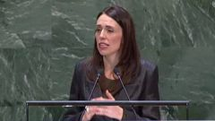 Jacinda Ardern's speech focused on how the lessons of March 15 can bring people together.