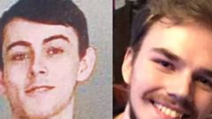 Bryer Schmegelsky, 18, left, and Kam McLeod, 19, killed three people before going on the run from authorities. They were found dead in an isolated part of northern British Columbia. (Photo / File)