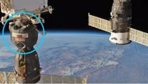 Russia silent on drill hole in International Space Station