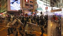 Boy, 14, shot by police in Hong Kong protests