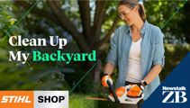 CHRISTCHURCH: Clean Up My Backyard with Stihl Shop