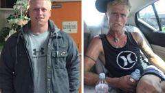 The photos were taken seven months apart. (Photo / Facebook)