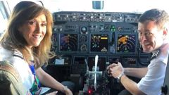 Tammie Jo Schults was the captain on board fatal flight 1380. (Photo / Facebook)