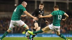 The All Blacks will face Ireland this Saturday. (Photo / Getty)