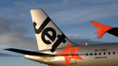 Jetstar passengers disgusted as family uses aisle seat as change table