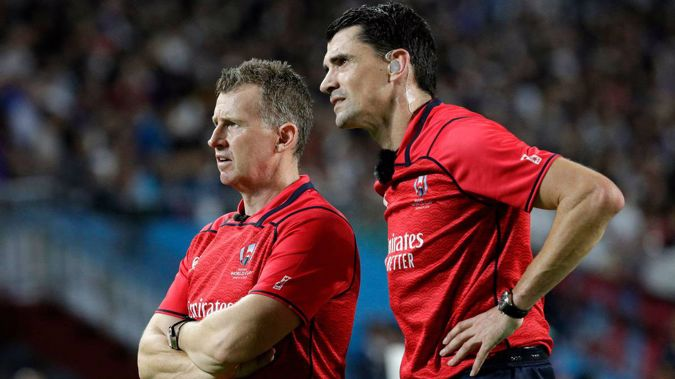 Nigel Owens will oversee the crucial match. (Photo / File)