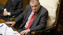 Parliament Speaker Trevor Mallard.