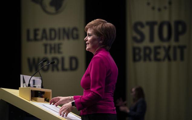 Scottish Party won't accept Brexit plans