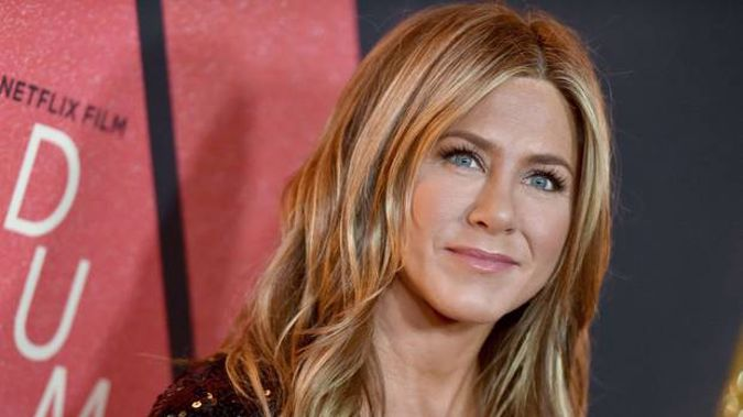 Jennifer Aniston broke a Guinness World Record in less than six hours after joining the social media platform. (Photo / Getty)