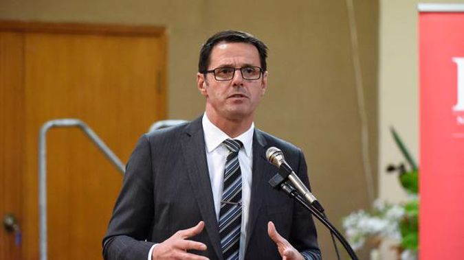 New Zealand First MP Clayton Mitchell denies that he was thrown out of a bar on Saturday night. (Photo / George Novak)