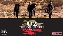 Win a VIP Party Experience to U2's Joshua Tree Tour