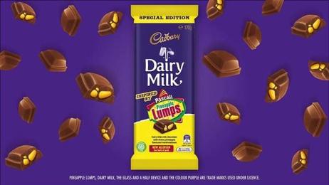 Cadbury's Pineapple Lumps block causes frenzy in Australia