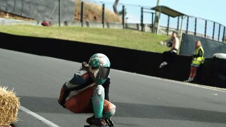 Christchurch skating champElissa Mah speaks to Lesley Murdoch