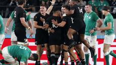 Live updates: All Blacks v Ireland, RWC quarter-final