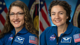 NASA astronauts complete first all-female spacewalk