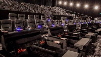 Moviegoers can now sit back and relax in daybeds