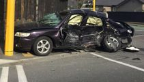 Police pursuit: One dead, five hurt in Christchurch crash