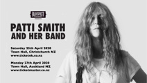 Patti Smith and Her Band to tour New Zealand in 2020