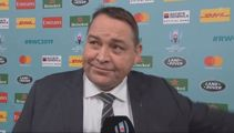 Steve Hansen overcome with emotion as AB's career comes to a close