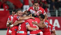 Tonga stun Australia to claim historic victory in Oceania Cup at Eden Park