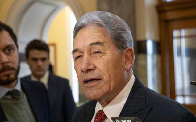 NZ First leader Winston Peters. (Photo / NZ Herald)