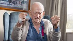 92-year-old Gordon Proctor in August this year. Photo / Christchurch Star