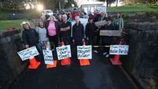 Protesters block removal of 350 trees at Ōwairaka/Mt Albert