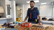 Auckland police seize hundreds of chocolate bars after arresting shoplifters