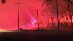 A Kerikeri resident has come up close to the wildfire. (Photo / BIG4 Colonial Holiday Park)
