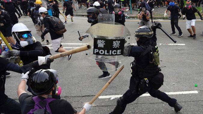 Nicolas Groffman: Hong Kong protests turning violent