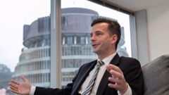 David Seymour was one of the people who dominated headlines this week. (Photo / NZ Herald)
