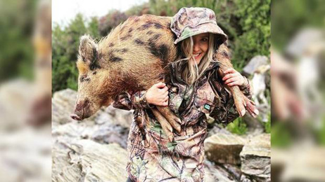 Kiwi mum reveals death threats she gets for taking children hunting