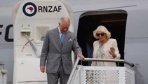 Charles and Camilla arrive in New Zealand for week-long tour