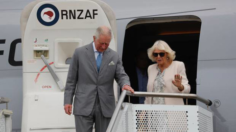 Will Trafford: Prince Charles and Camilla, the Duchess of Cornwall, arrive in New Zealand