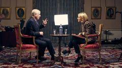 Prince Andrew on BBC Newsnight with Emily Maitlis. (Photo / BBC)