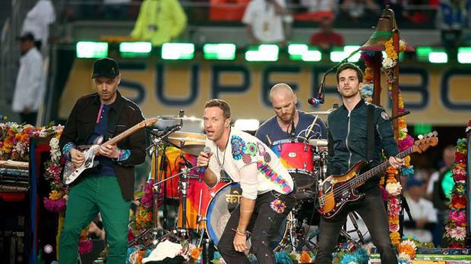 British musical giants Coldplay have chosen the Otago Daily Times of all the world's media outlets to reveal lyrics to their new album. (Photo / Getty)