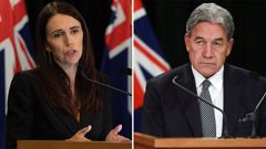 Prime Minister Jacinda Ardern and Deputy PM Winston Peters. (Photo / File)