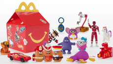 Back to the 90s: McDonald's brings back retro happy meal toys