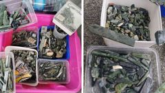 The man claims he was gifted the pounamu by his grandmother. (Photo / Facebook)