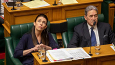 Jacinda Ardern and Simon Bridges clash over NZ First donation allegations