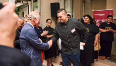 Anya Satyanand: Young entrepreneurs meet with Prince Charles